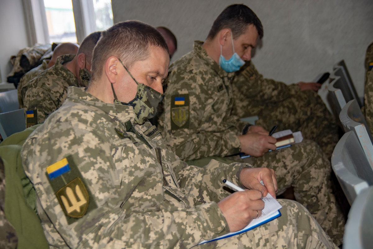 У Полтаві завершився фаховий збір з офіцерами ТЦК та СП області.