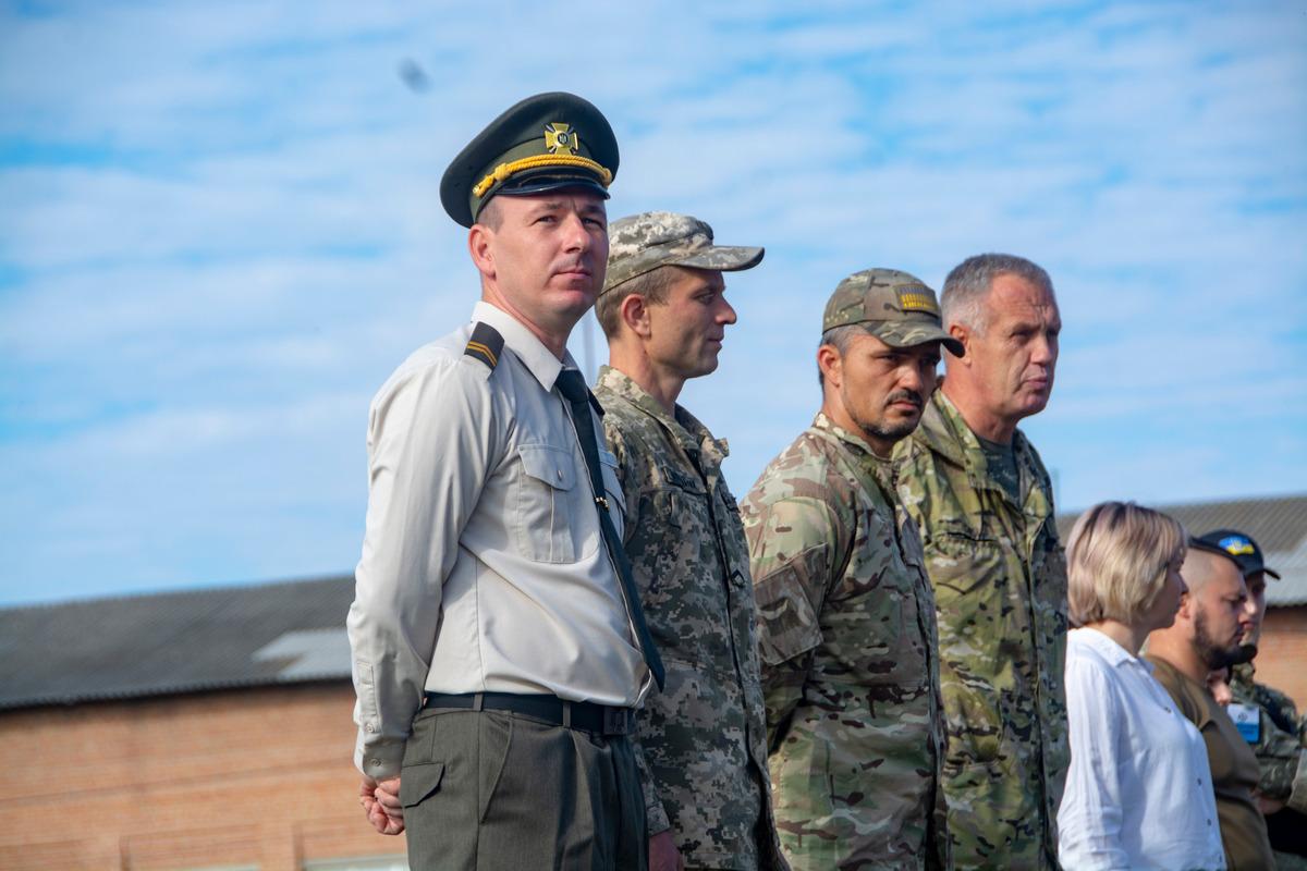 На Полтавщині відбувся військово-патріотичний збір – відкритий урок з предмету Захист України.
