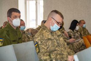У Полтаві розпочався фаховий збір з офіцерами Полтавського обласного і районних та міських ТЦК та СП.